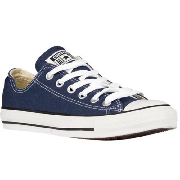 342145180de386 Worn Once Mens 13 Navy Blue Low Top Converse